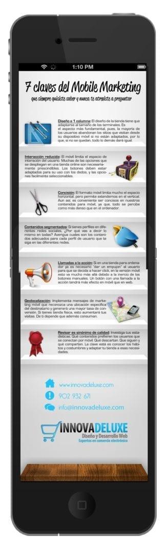 7 claves del mobile marketing infografia