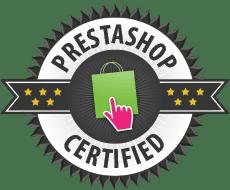 Logo de empresa certificada por Prestashop
