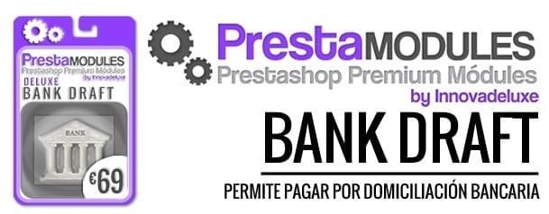 modulo prestashop para domicilicion bancaria