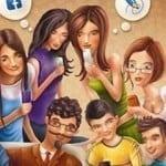 Vendedor en el mundo real, amigo en las redes sociales