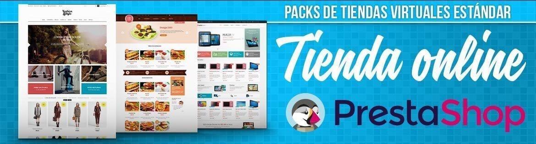 Banner Packs tiendas online PrestaShop