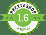 logotipo de versión Prestashop 1.6