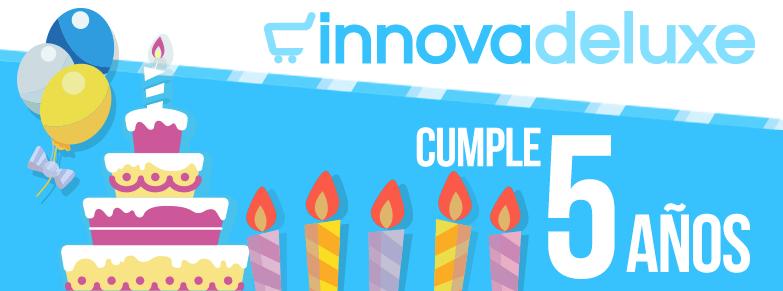 Banner Innovadeluxe Cumple 5 años de vida