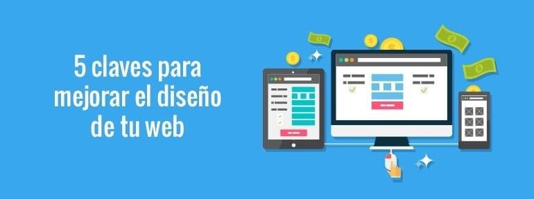 Cinco consejos para mejorar el diseño web