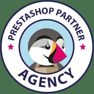 Logo Agencia Certificada PrestaShop