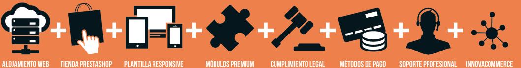 Pack de tienda online para comercio multicanal con InnovaCommerce