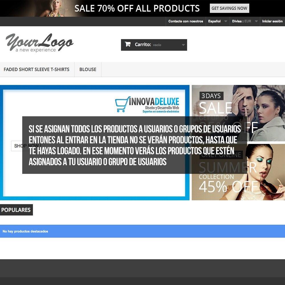 Módulo para tener productos privados por clientes o grupos de clientes - Pantalla 6