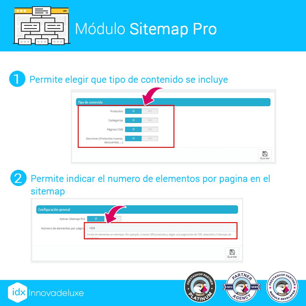 Módulo para añadir un sitemap.xml optimizado para SEO - Pantalla 1
