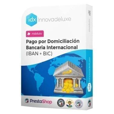Módulo para Pago por Domiciliación Bancaria Internacional