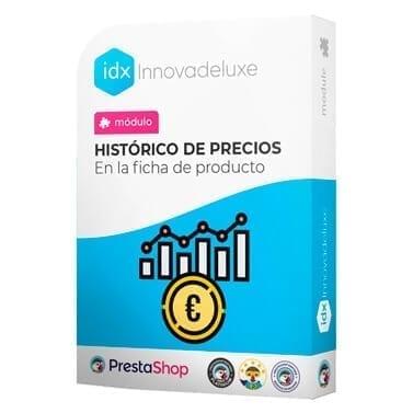 Módulo para mostrar el histórico de Precios en la página del producto