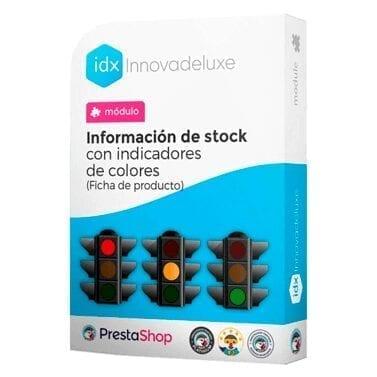 Módulo para añadir a cada producto un indicador visual del nivel de stock disponible