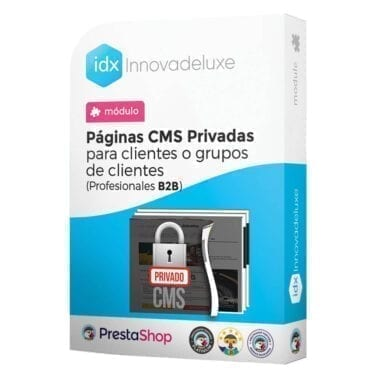 Módulo para tener páginas CMS privadas por grupos de clientes